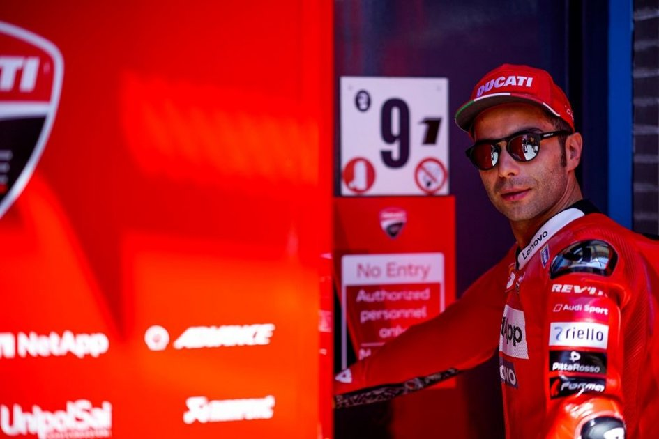 """MotoGP: Petrucci: """"Ho perso tempo per l'incidente di Dovi, devo partire meglio"""""""
