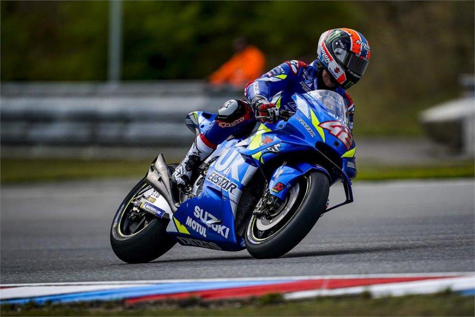 MotoGP: Rins: Con la nuova carena la Suzuki non impenna più