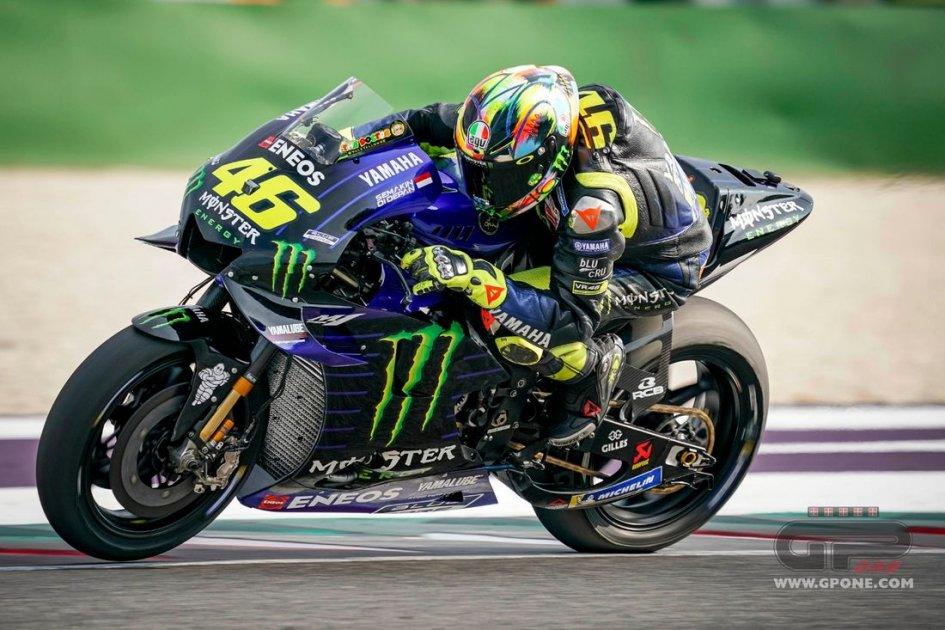 """MotoGP: Rossi: """"Sono arrivato a Misano preoccupato, me ne vado ottimista"""""""