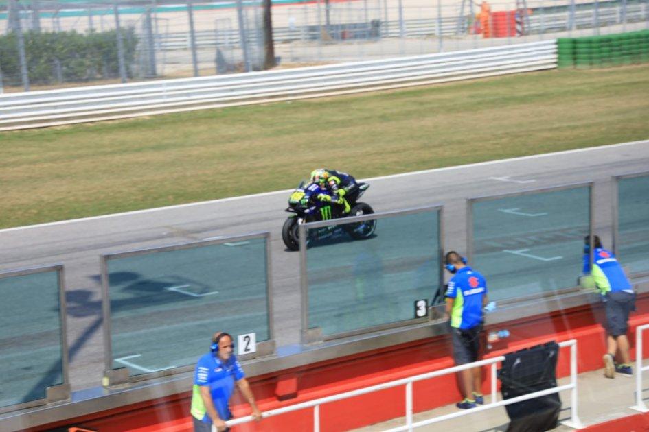 MotoGP: Yamaha at Misano with a new carbon swingarm