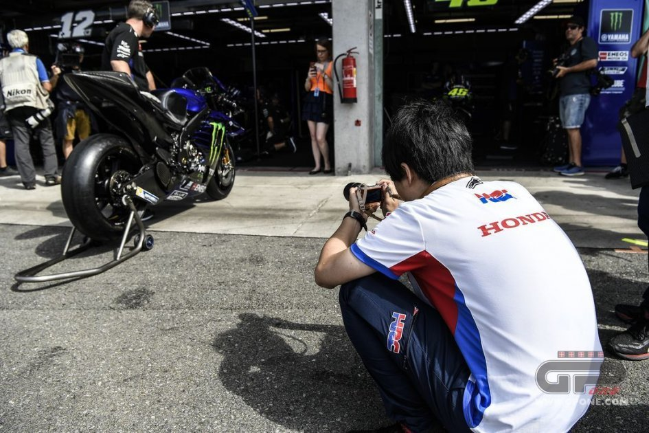 MotoGP: Yamaha flies at Brno, but only in testing. And Honda doesn't sit idly by
