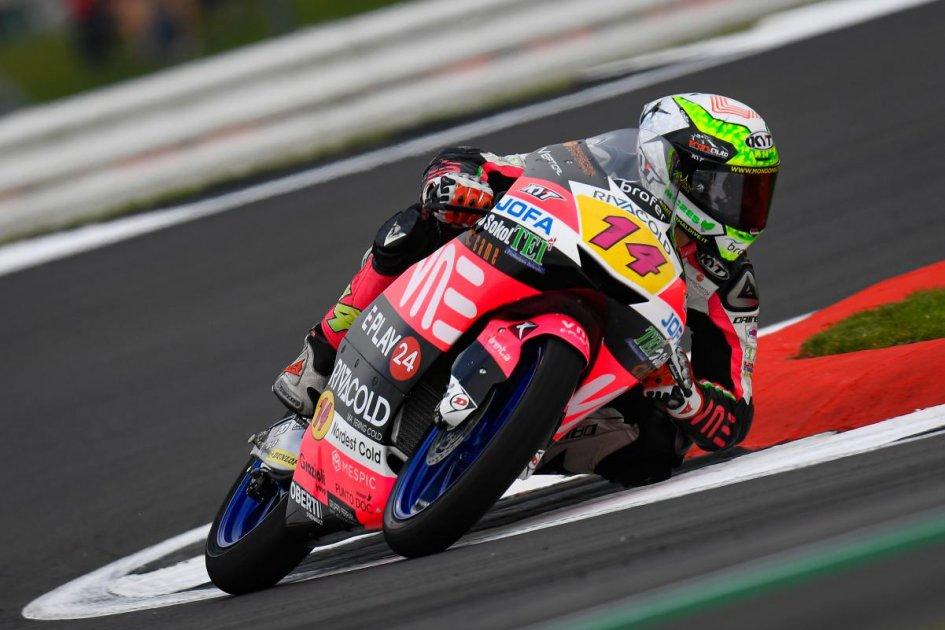 Moto3: FP3: Arbolino e Fenati davanti a tutti a Silverstone