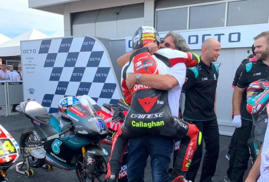 "Moto3: Simoncelli: ""Suzuki? I believe in fate and I'd like to hug Marco again."""