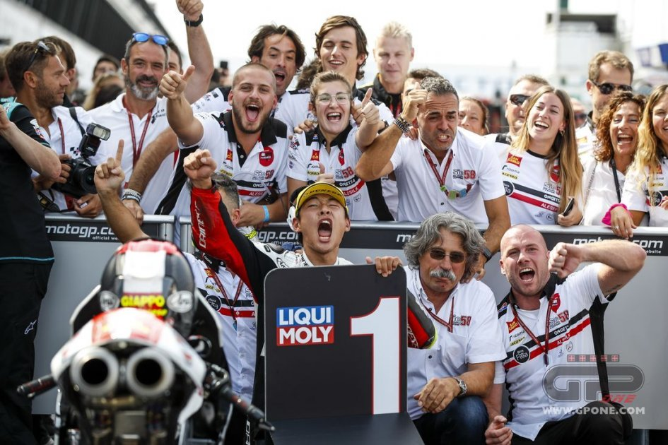 """Moto3: Paolo Simoncelli: """"Sic, tutto questo è per te"""""""
