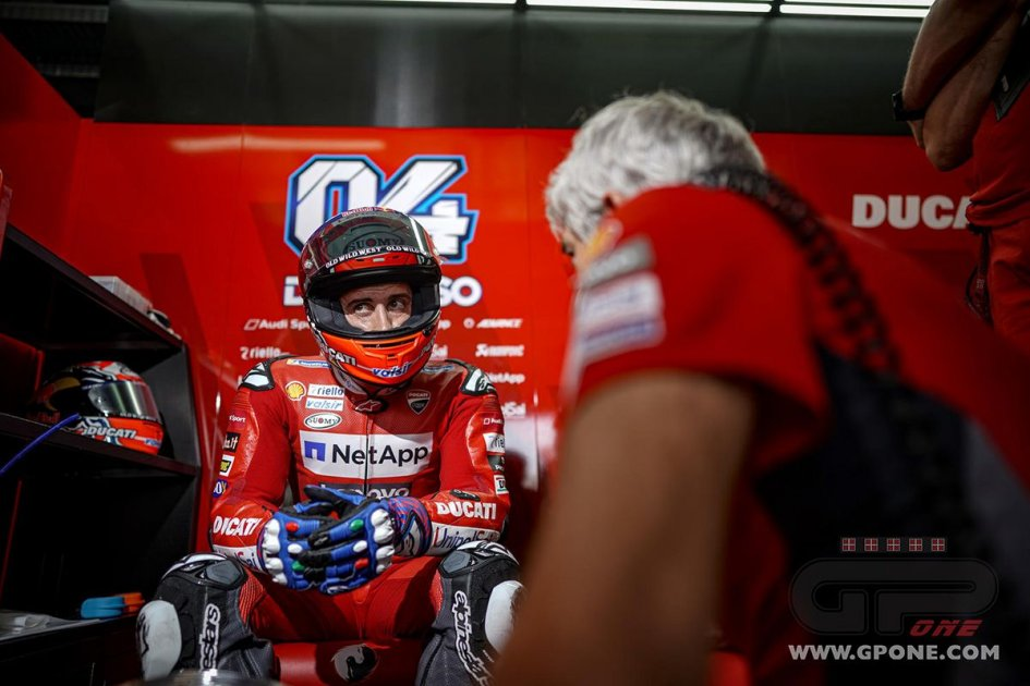 """MotoGP: Dovizioso: """"La MotoGP è così: un errore e sei 10°.Il grip non c'entra"""""""