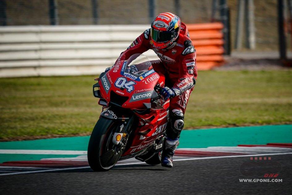 """MotoGP: Dovizioso: """"Il mio fisico va bene, il ritmo invece no"""""""