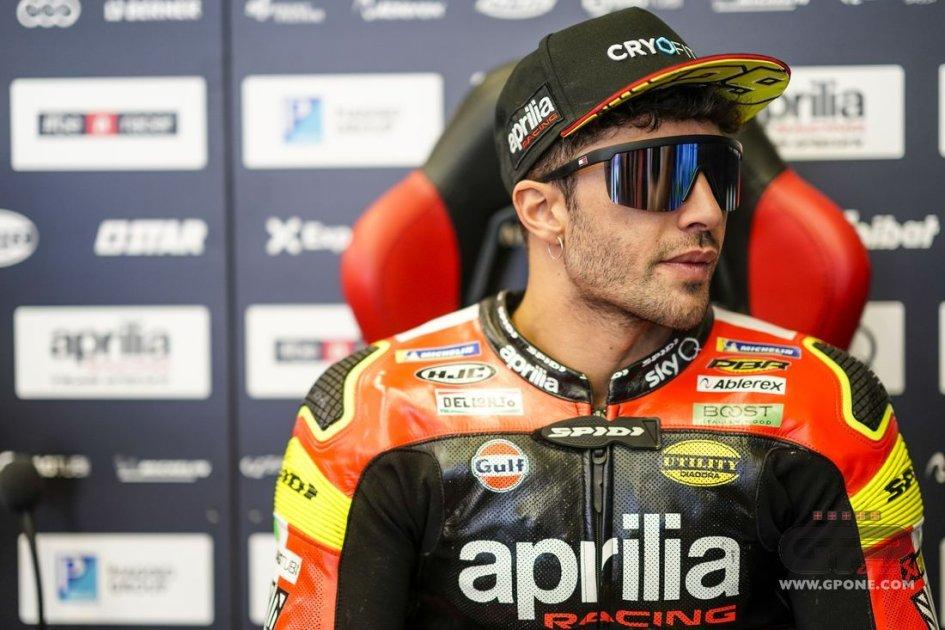 """MotoGP: Iannone: """"La situazione non è perfetta, dovrò stringere i denti"""""""