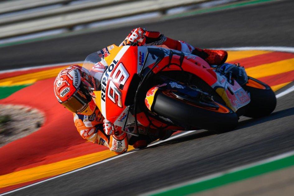 """MotoGP: Marquez: """"La caduta? Meglio rischiare oggi che domenica"""""""