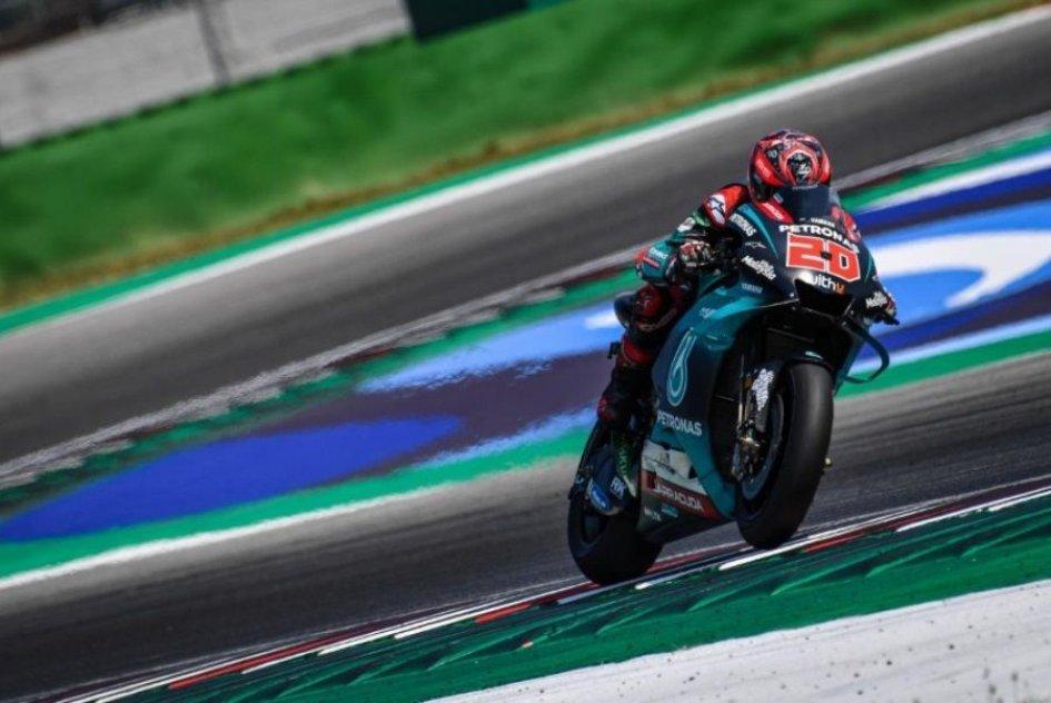 MotoGP: FP1: Marquez nella morsa delle Yamaha, 1° Quartararo