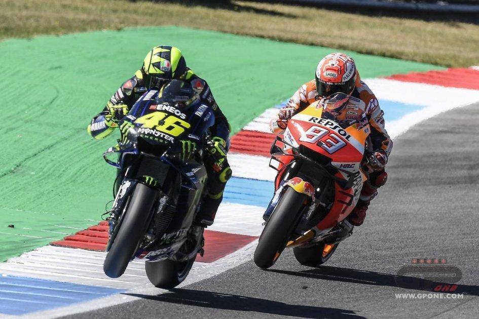 MotoGP: The Stewards Panel exonerates Rossi and Marquez