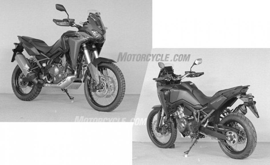News Prodotto: Honda Africa Twin 2020: prime foto della endurona con motore 1100