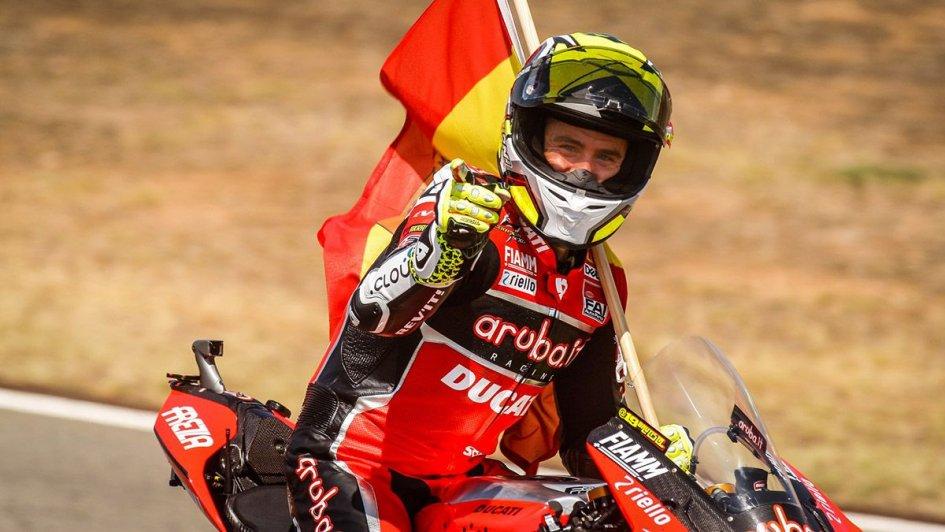 """SBK: Bautista: """"La Ducati è un missile, ma nelle curve devo lottare"""""""
