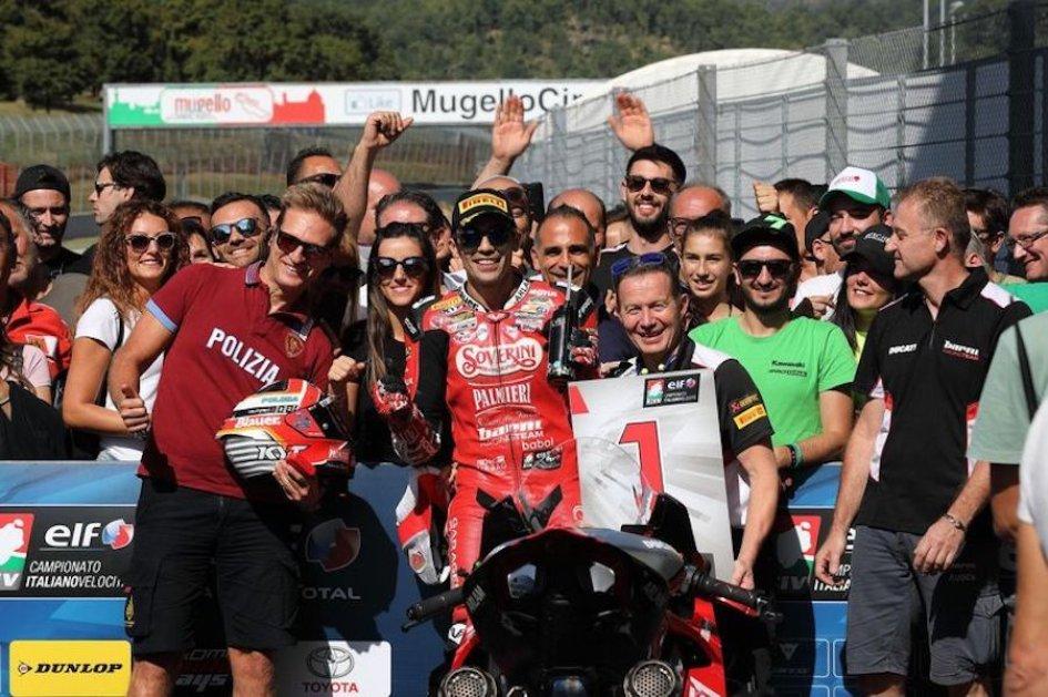 SBK: ELF CIV: podio e titolo italiano per Michele Pirro