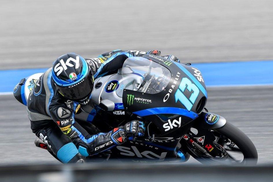 Moto3: Prima pole in carriera per Vietti a Buriram, 10° Dalla Porta