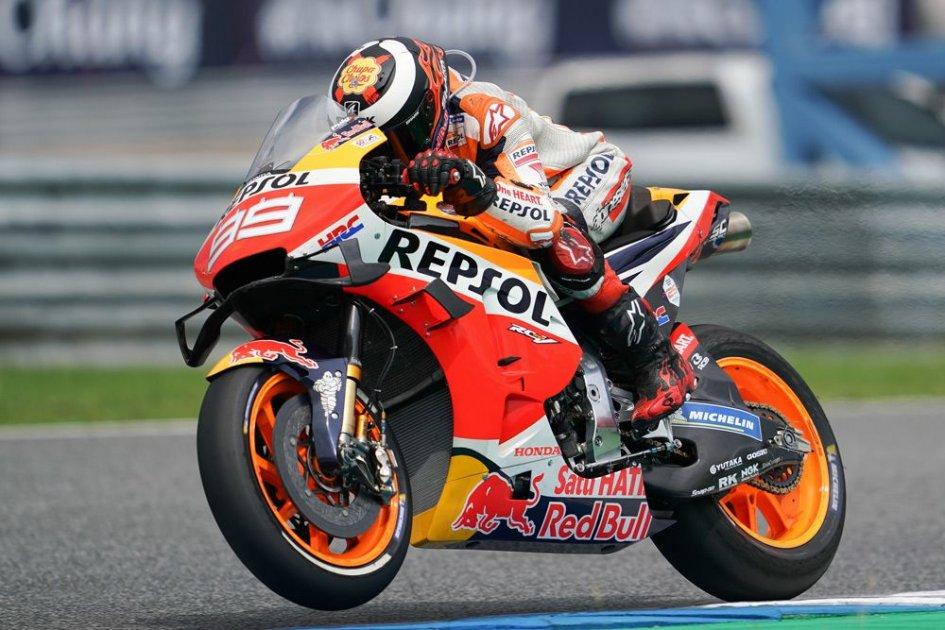"MotoGP: Lorenzo: ""I also risked falling like Marquez."""