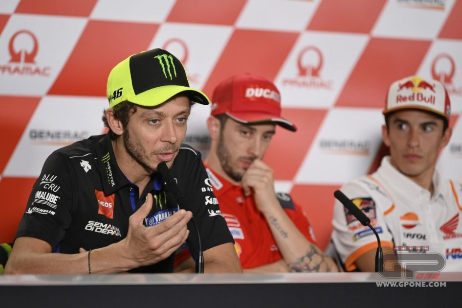 """MotoGP: Rossi: """"In MotoGP with my brother Luca? I'd like that."""""""