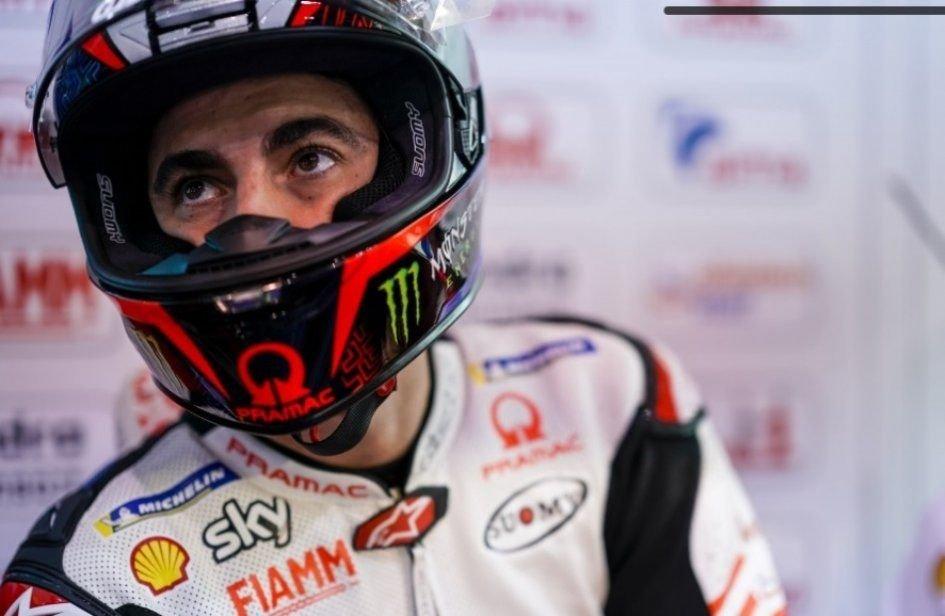 "MotoGP: Bagnaia: ""Anch'io ho rischiato di finire a terra come Oliveira"""