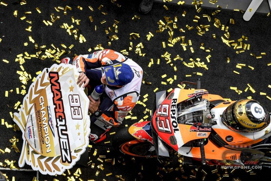 MotoGP: Marc Marquez, the triumph after the 8th title