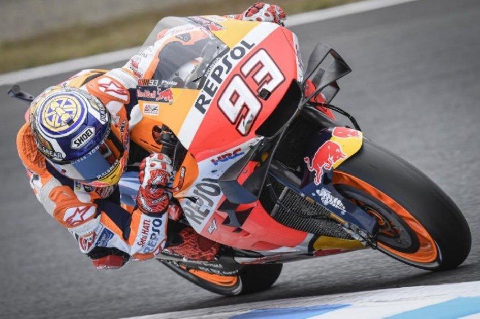 MotoGP: Marquez incontrastabile a Motegi, Dovizioso salva la Ducati, 3°