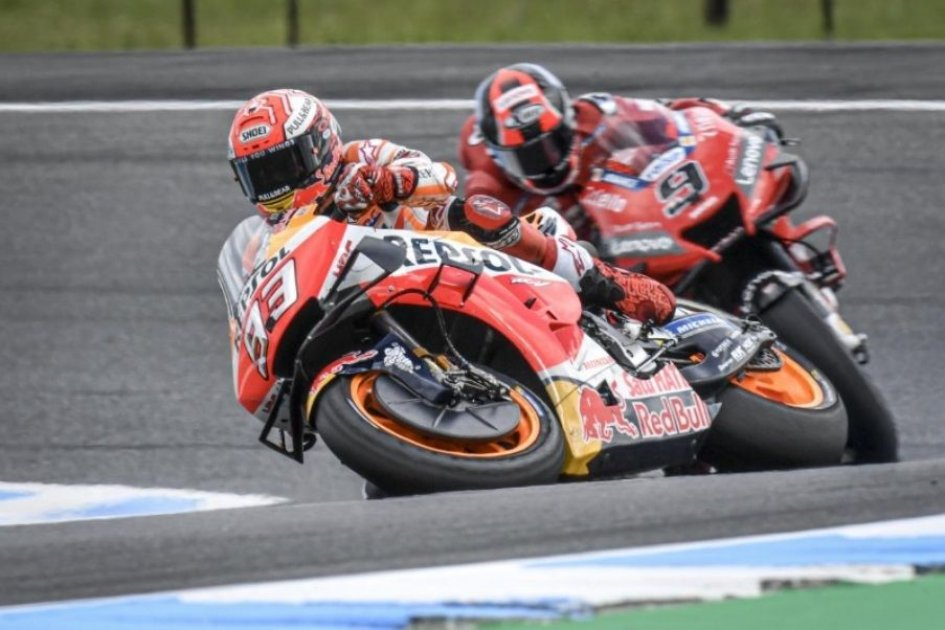 "MotoGP: Marquez: ""Lorenzo needs to pay attention. FP2 is basically qualifying"""