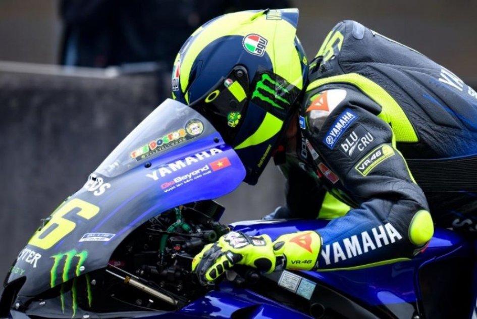 "MotoGP: Rossi, ultima Yamaha: ""Aiuta a capire, ma fatico in frenata"""