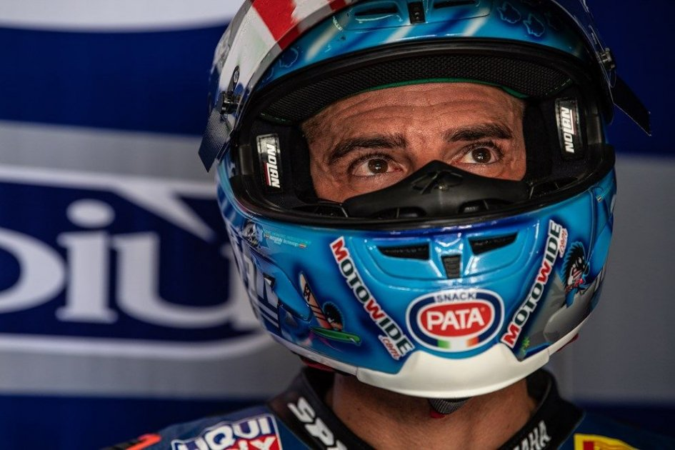 "SBK: Melandri: ""Ridiculous. They finished the track on Wednesday."""