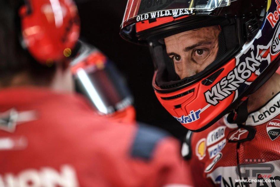 """MotoGP: Dovizioso: """"Essere favoriti sulla carta non serve a niente"""""""