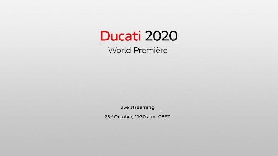 Moto - News: Ducati World Première 2020: la diretta streaming