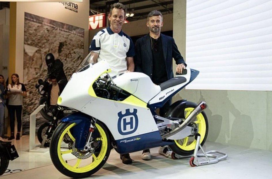 """Moto3: Biaggi: """"Orgoglioso di riportare Husqvarna nel motomondiale"""""""