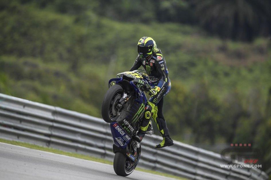 """MotoGP: Rossi 'bipolare': """"Sono contento ma anche preoccupato"""""""