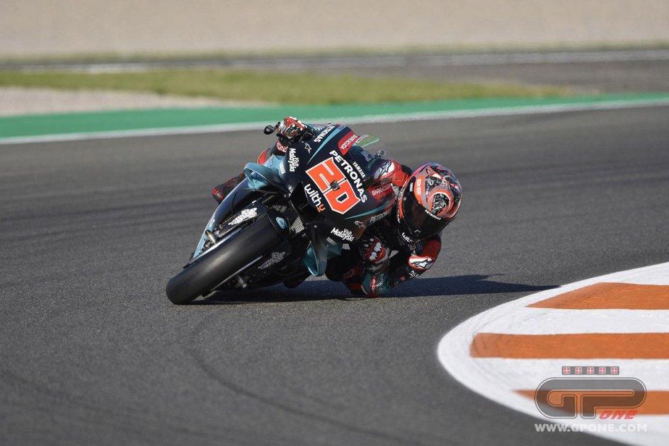MotoGP: FP3 Valencia, Quartararo si candida alla pole, Rossi 4°