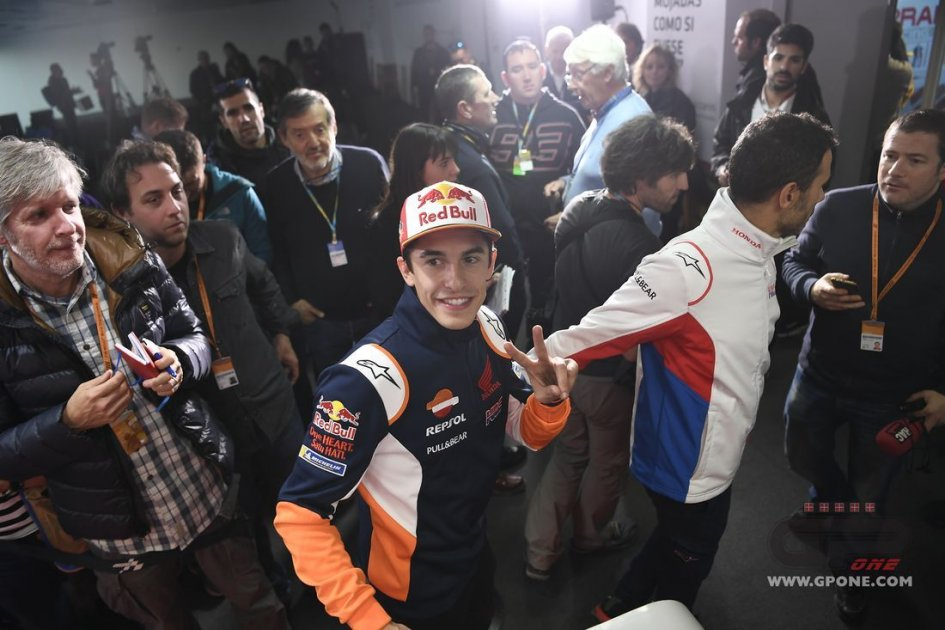 "MotoGP: Marquez: ""Alex in Honda with me? He would be a rival like any other."""