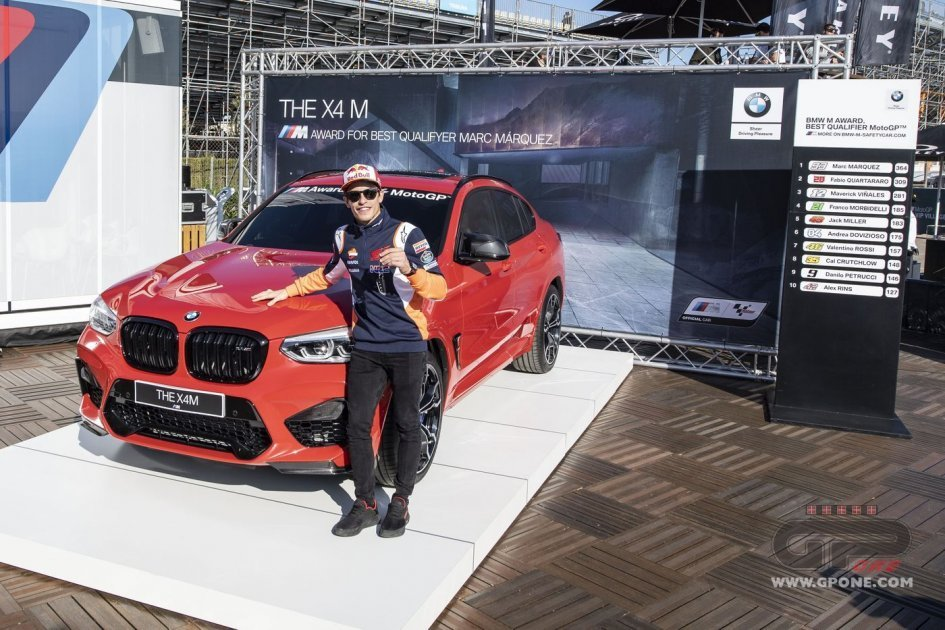 MotoGP: Marquez owns a dream garage. The 7th BMW has arrived: X4 M Competition