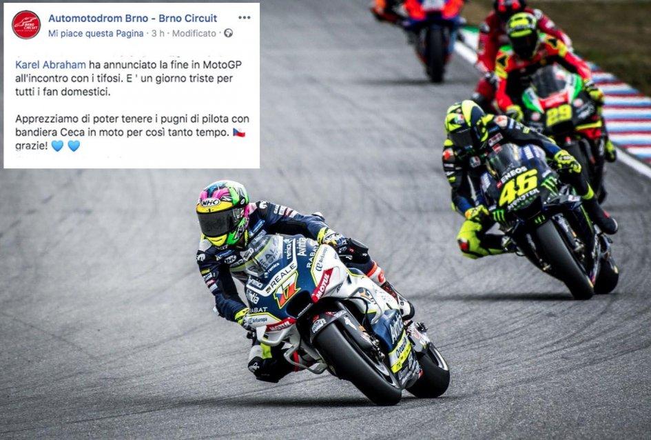 MotoGP: UFFICIALE Abraham fuori dalla MotoGP: spunta la Ducati per Zarco