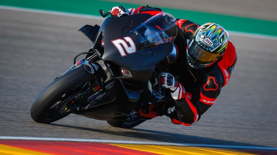 SBK: Aragon test: all the photos of the first day at Motorland