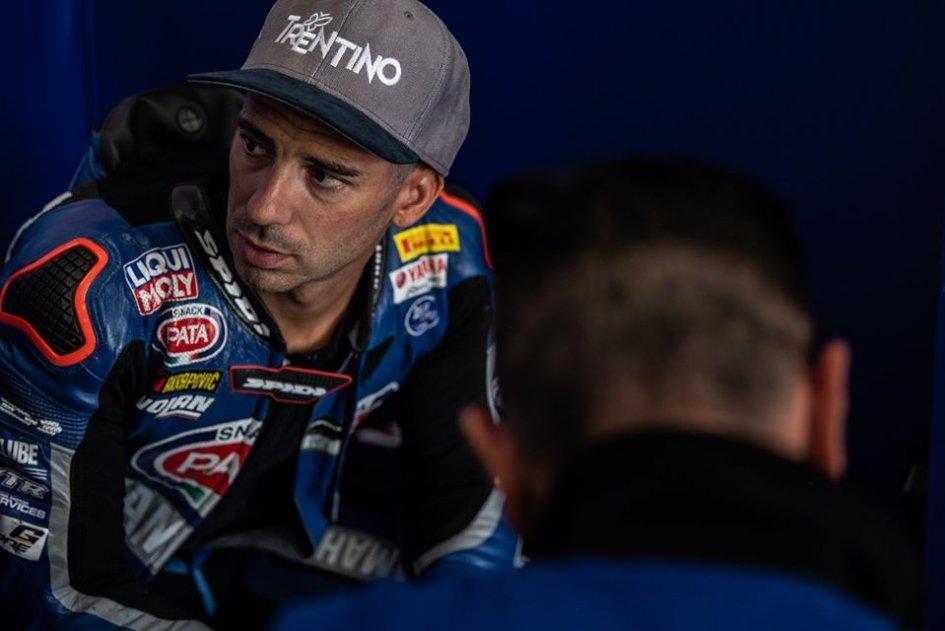 """MotoGP: Melandri: """"Io come Lorenzo, non bisogna aver paura di fermarsi"""""""