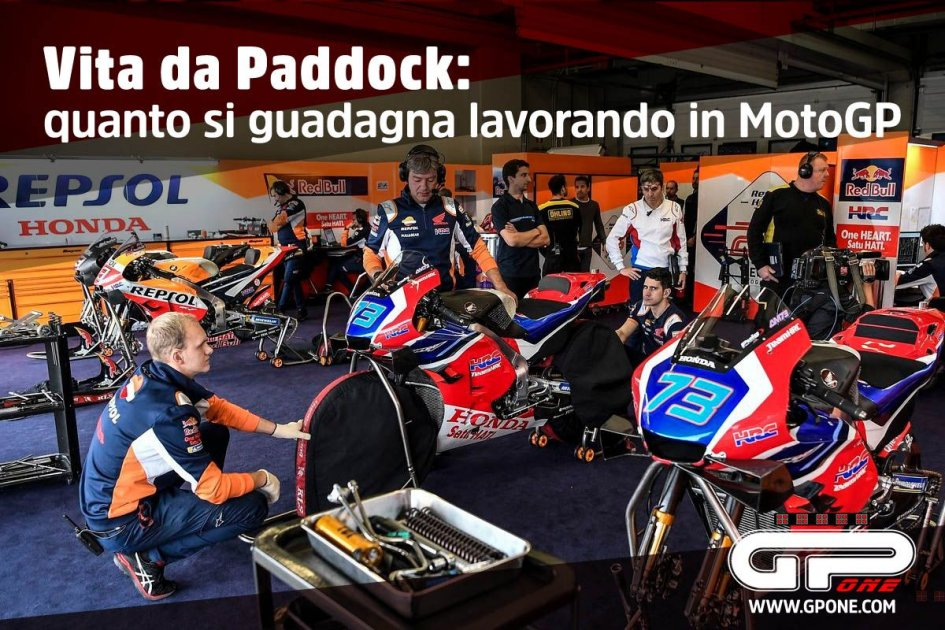 MotoGP: Paddock Life: how much can you earn working in MotoGP?