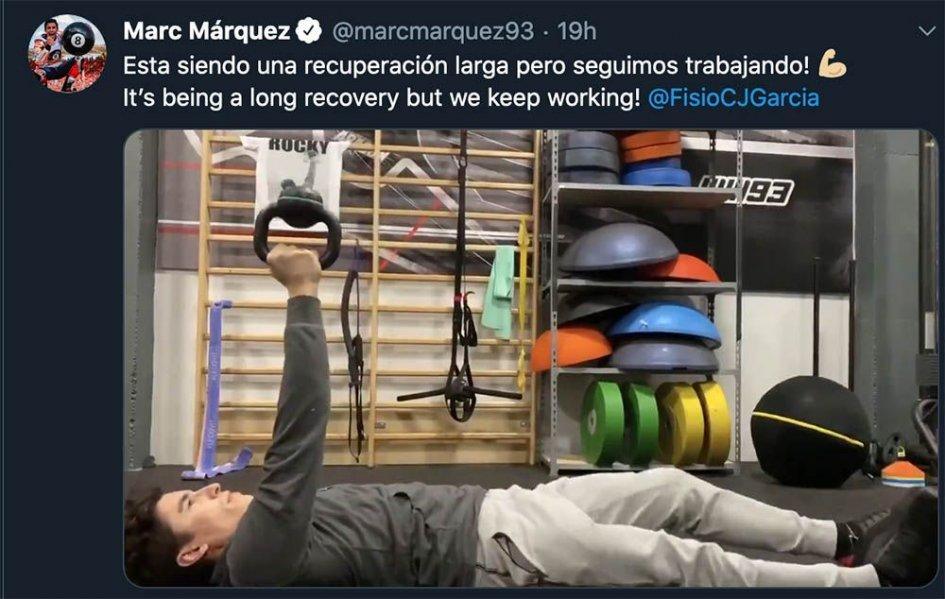 MotoGP: Marquez si allena come Rocky per i test di Sepang