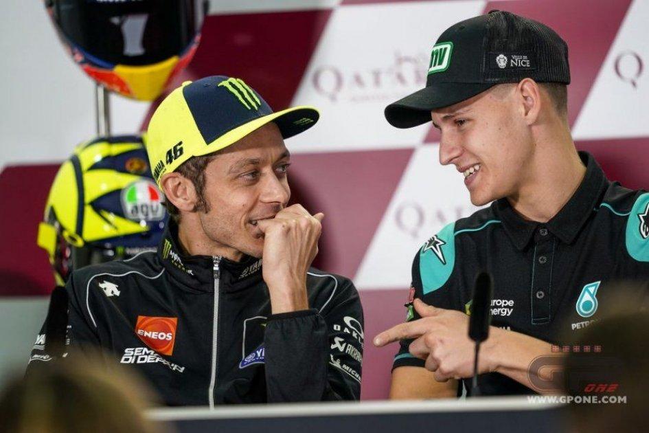 MotoGP: Sondaggio: Rossi-Quartararo, una poltrona per due in Yamaha