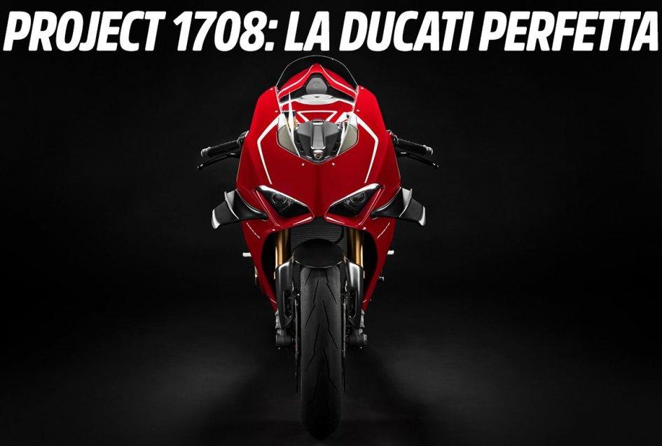 News Prodotto: ESCLUSIVO, Ducati 'Project 1708': vi sveliamo la bomba V4