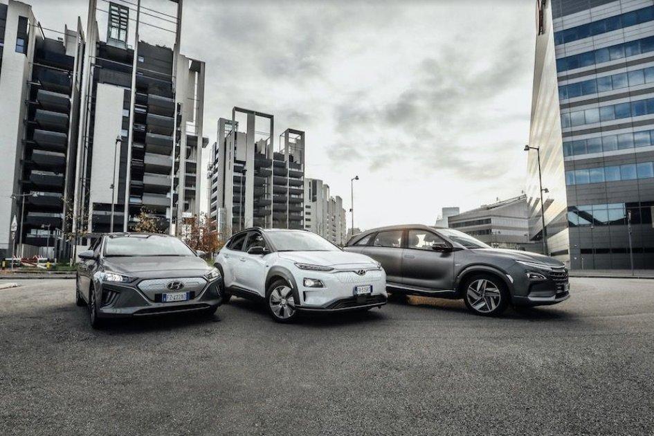 Auto - News: Hyundai - elettrico, ibrido ed idrogeno il futuro è presente