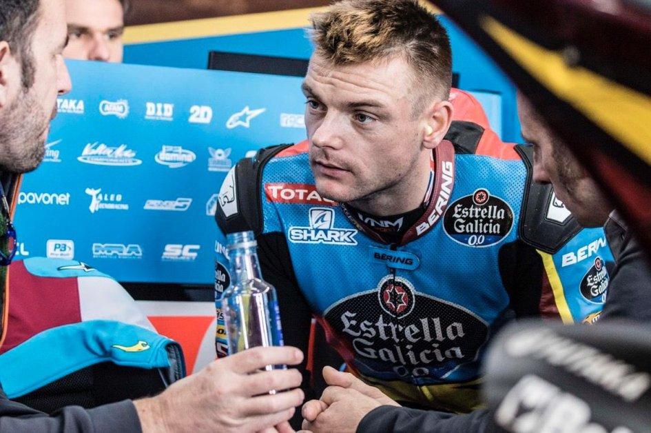 Moto2: Sam Lowes perderà il test Irta di Jerez a causa di un infortunio