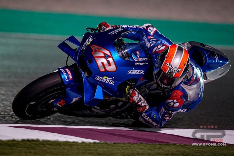 MotoGP: TEST QATAR DAY1 - Doppietta Suzuki: 1° Rins e 2° Mir