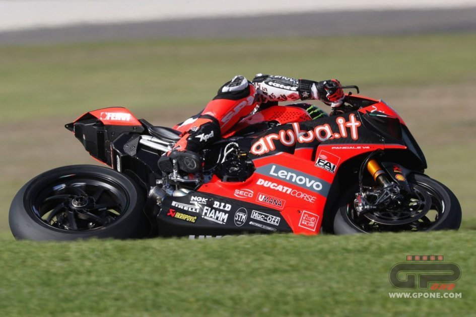 SBK: Phillip Island: all the photos from the first day of testing