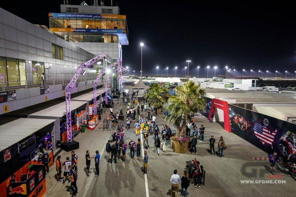 News: No spectators at Qatar GP: paddock on lockdown