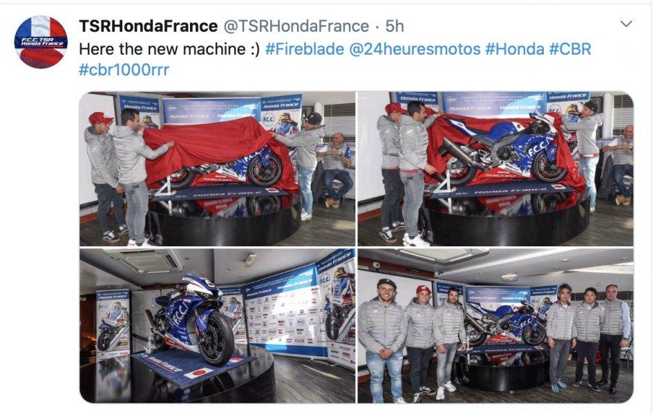 SBK: Una CBR da urlo per la 24 Ore di Le Mans