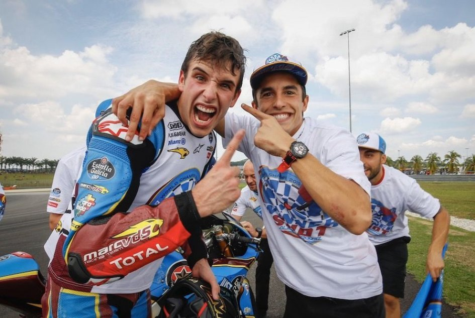 "Moto2: Alex Marquez: ""Go up against Marc in the MotoGP? It's something I'm not thinking about right now."""