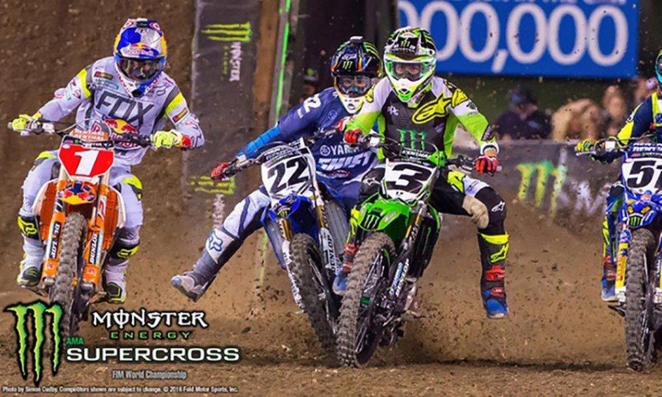 News: Monster Energy Supercross riprende le gare a Salt Lake City, 31 maggio