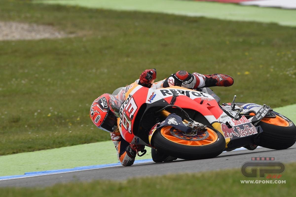 MotoGP, The crash of Marc Marquez in Assen | GPone.com