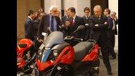 Moto - News: Piaggio a Palazzo Chigi